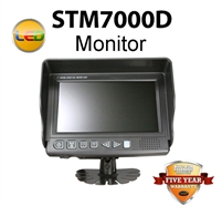 "STM7000DM - COMMERCIAL DUTY 7"" (MONITOR ONLY) FOR REARVIEW BACKUP SYSTEM"
