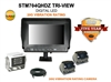 "ULTRA HEAVY DUTY 7"" TRI-VIEW REAR VIEW BACK-UP CAMERA KIT"