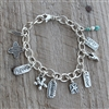 Heavy Cable Bracelet with Swivel Lobster Clasp