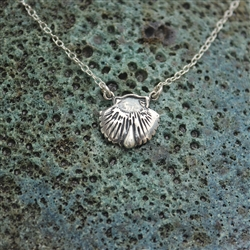 Baptism Seashell Necklace