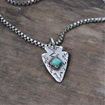 Men's Arrowhead Necklace