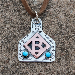 Diamond B Brand Cowtag