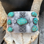 Vintage Turquoise Nugget Buckle
