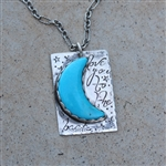 Love You To The Moon Pendant