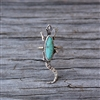 Turquoise Lizard Ring