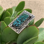 Turquoise Rectangle Ring