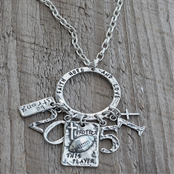 Faith, Hope, & Love Charm Holder