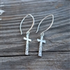 Hope Cross Earrings