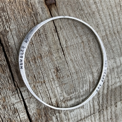 Humbled by His Mercy Bangle