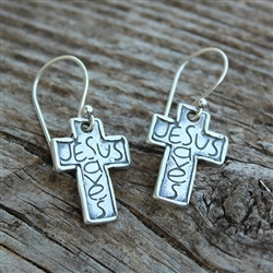 Jesus Saves Earrings