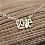 Let it Be Love Necklace