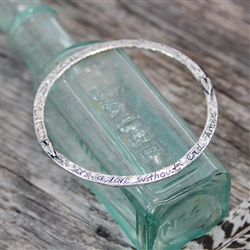 Love Without End Bangle Bracelet