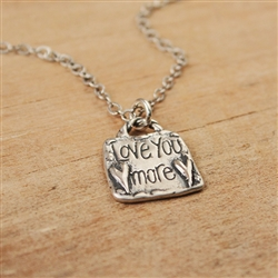 Love You More Pendant