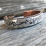 Fingerprint & Signature Cuff