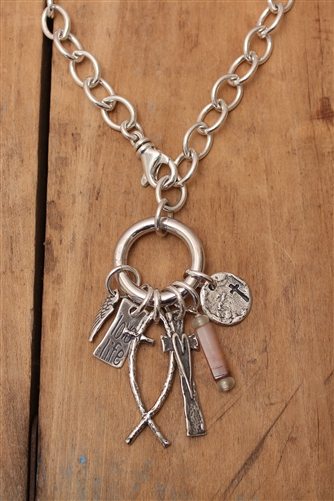 Hinged charm holder with swivel clasp mozeypictures Gallery
