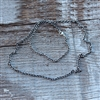 2.8mm Oxidized Cable Chain