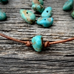 Rock My Turquoise Adjustable Choker