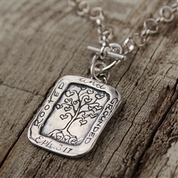 Rooted & Grounded Pendant