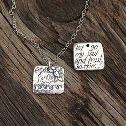 Trust in Him Pendant