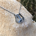 Stirrup with Boot Necklace