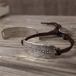 Walk by Faith Bracelet