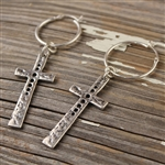 HOLEY CROSS EARRINGS