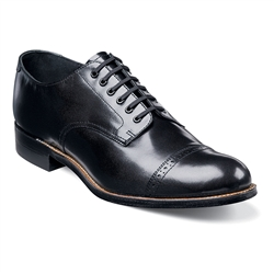 Stacy Adams - Madison Cap Toe Black Shoes
