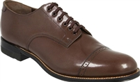 Stacy Adams - Madison Cap Toe Brown Shoes
