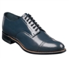 Stacy Adams - Madison Cap Toe Navy Shoes