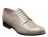 Stacy Adams - Madison Cap Toe Taupe Shoes