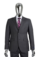 Berragamo - Elegant | Modern 2-Piece Plaid Grey Suit