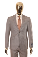 Berragamo - REDA | Modern 2-Piece Notch Sharkskin Tan Suit