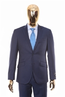 Berragamo - REDA | Modern 2-Piece Notch Solid New Blue Suit