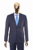 Berragamo - REDA | Slim 2-Piece Notch Solid New Blue Suit
