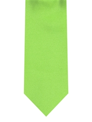 Brand Q Solid Lime Green Tie
