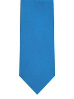 Brand Q Solid Electric Blue Tie