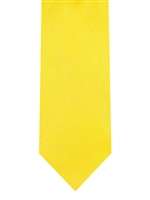 Brand Q Solid Yellow Tie