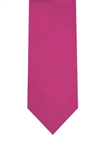 Brand Q Solid Hot Pink Tie