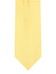 Brand Q Solid Moon Yellow Tie