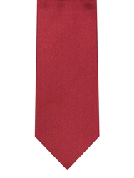 Brand Q Solid Wine Red Tie