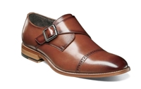 Stacy Adams | DESMOND Cap Toe Monk Strap