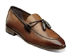 Stacy Adams | BIANCHI - Leather Sole Moc Toe Tassel Slip On - Tan Multi | Wide