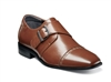 STACY ADAMS - BOYS MACMILLIAN Cap Toe Monk Strap