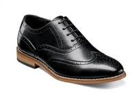 STACY ADAMS - BOYS DUNBAR Wingtip Oxford