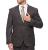 Portly Eisenberg Suit Separates Charcoal Coat