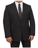 Big & Tall Eisenberg Suit Separates Charcoal Coat