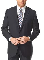 Eisenberg Portly Solid Charcoal Suit