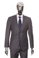 Berragamo - Fancy REDA | Modern 2-Piece Grey Suit