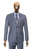 Berragamo - Fancy REDA | Modern 2-Piece Light Blue Suit
