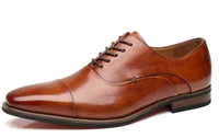 La Milano - Cap Toe Oxford Leather Lace Up Classic